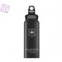 SIGG WMB SWISS EMBLEM BLACK TOUCH 1.0L 8325.10